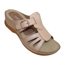 Louis Dollars Creme Design Medical Soft Sandal By Armansbazar