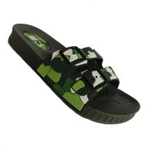 Stylish Mens Summer Green Slipper By Armansbazar