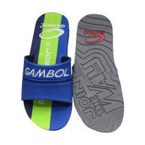 GAMBOL Stylish Mens Summer Blue & Green Slipper By Armansbazar