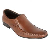 Brown Leather Modish Men's Formal Shoes Doo-15 By AlexshopBD