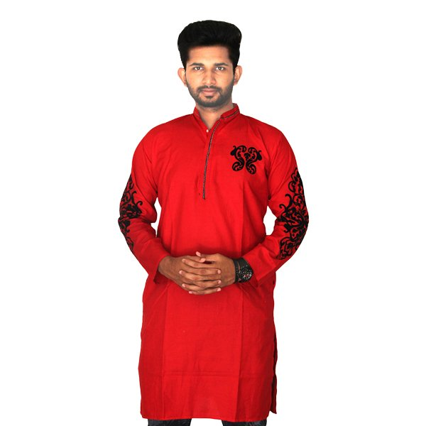 eShoppingBD Men's Full Sleeve Cotton Panjabi P-23