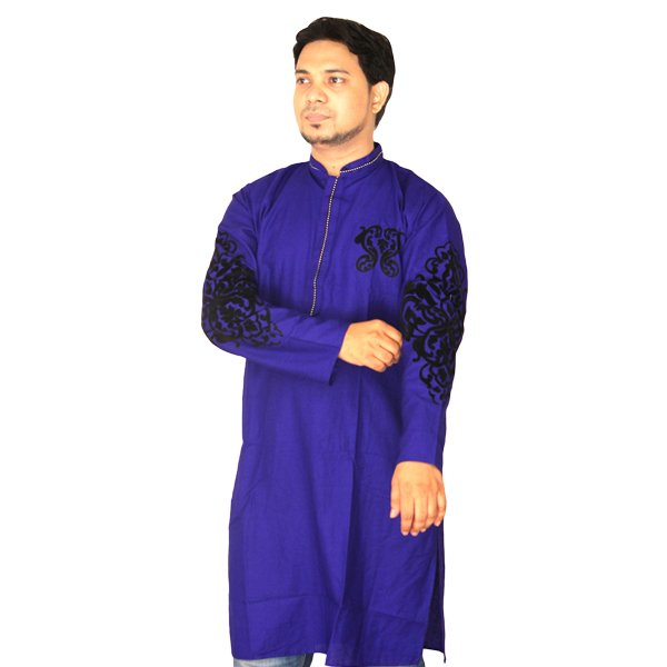 eShoppingBD Men's Full Sleeve Cotton Panjabi P-24
