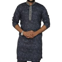 eShoppingBD Men's Full Sleeve Cotton Panjabi P-27