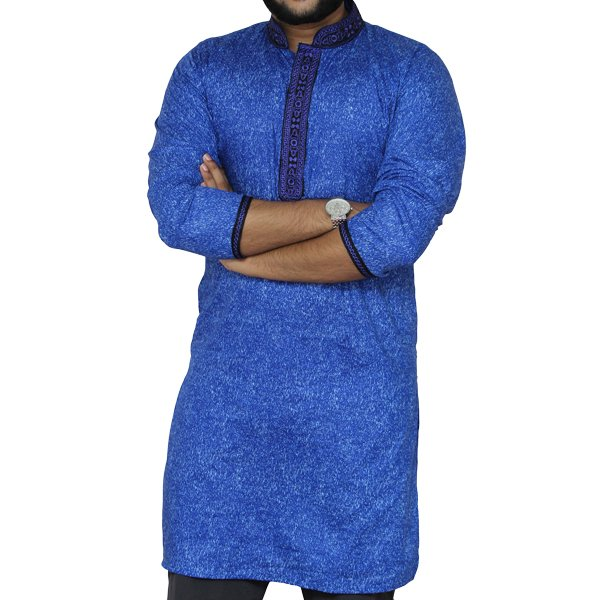 eShoppingBD Men's Full Sleeve Cotton Panjabi P-28