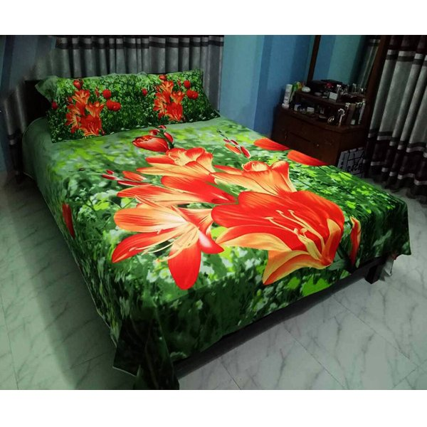 eShoppingBD Cotton King Size Bed Sheet BS-150