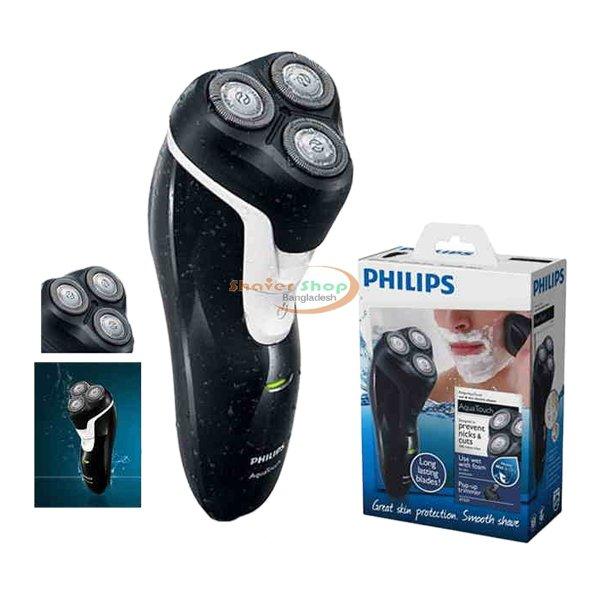 Philips জেন্টস ইন্দোনেশিয়ার ওয়াটারপ্রুফ ভিজা ও শুষ্ক শেভার AT-610