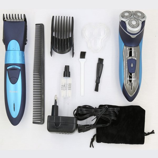Kemei New Arrival Electric Shaver Three Head with Trimmer for Men KM-7392