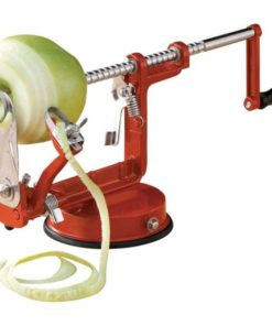 Apple Red Potato Peeler Slicer Corer