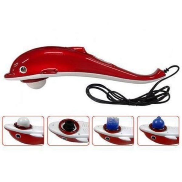 Dolphin Red Massager