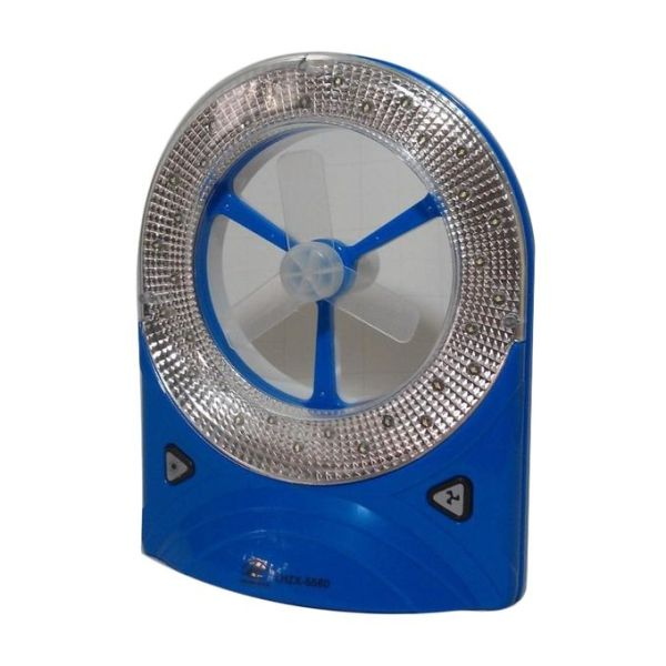 Rechargeable Multipurpose Emergency Fan and LED light