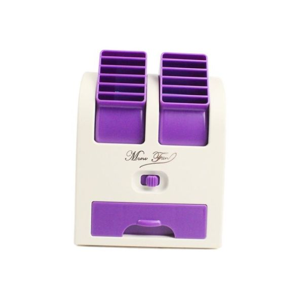 USB Mini Cooling Portable Fan Purple