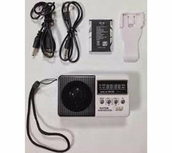 Ws-239 Digital Fm Radio Receiver