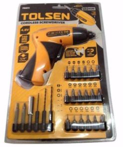 Tolsen Screwdriver Set with Drill