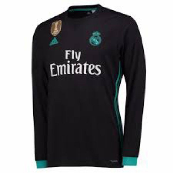 2017-18 Real Madrid Away Club Jersey full Sleeve Only Jersey