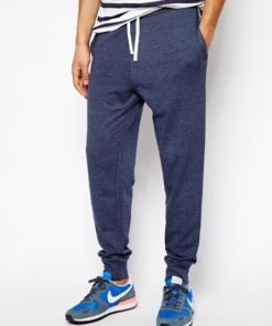 Lakbuas Men's Super Skinny Light Blue Rib Trouser RTP-061