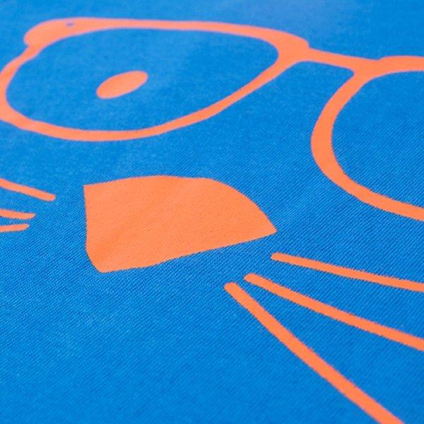 বাচ্চাদের হালকা নীল রাবার প্রিন্ট টি-শার্ট BCZ-004
