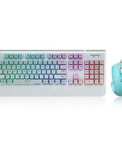 Rapoo V110 Backlit Optical Gaming Keyboard Mouse Combo