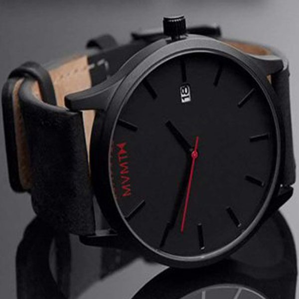 MVMT Gents Wrist Watch Black