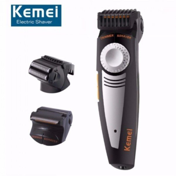 Kemei KM-819 2 in1 Professional Hair Trimmer Clipper Electric Shaver Beard Trimmer For Men