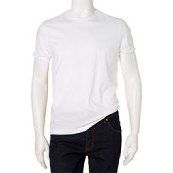 Solid White Color Cotton Round Neck T-Shirt