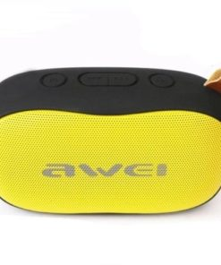 Fashionable Bluetooth Speaker Y900 – Black and Yellow