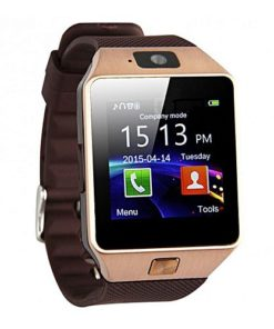 Smart Mobile Watch Single Sim - Golden