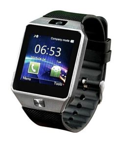 Single SIM Smart Watch - Black
