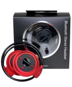 Bluetooth Wireless Headphones Mini 503 - Black and Red