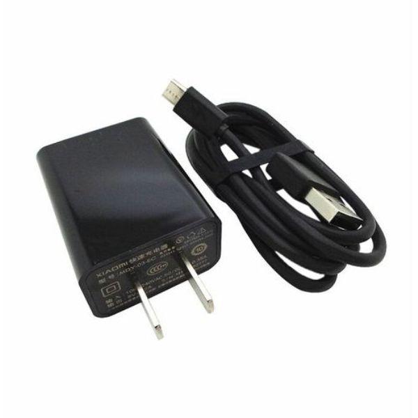 MI USB কালো অ্যাডাপ্টার ও ক্যাবল
