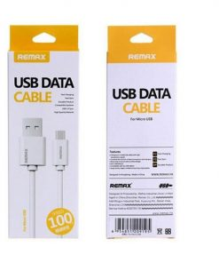 REMAX Micro USB Fast Charger Cable – White