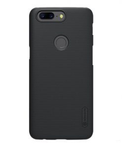 Nillkin Super Frosted Shield Back Case for One Plus 5T - Black