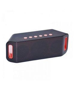 Mini Bluetooth Speaker - S204 - Black and Red