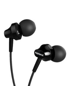 RM-501 In-Ear Stereo Earphone with Mic - Black