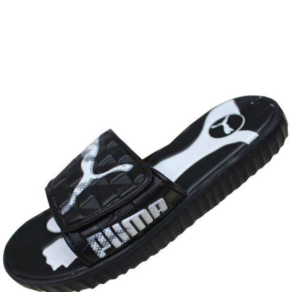Puma Men's Black Very Soft Summer Slipper