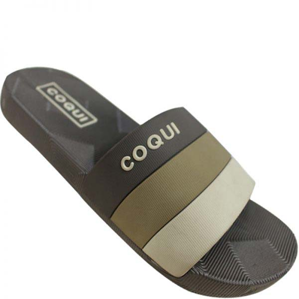 COQUI Men's Multi-color Very Soft Summer Slipper