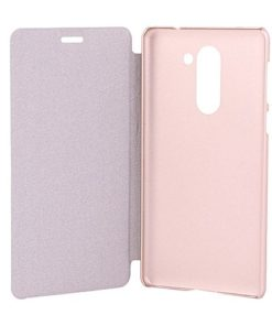 Flip Cover Case for Huawei GR5 2017, 6x - Rose Gold