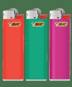 BIC J5 মাল্টি কালার স্ট্যান্ডার্ট স্লিম পকেট লাইটার