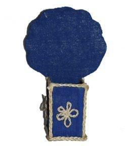 নীল আকর্ষনীয় ডিজাইনের কলমদানি