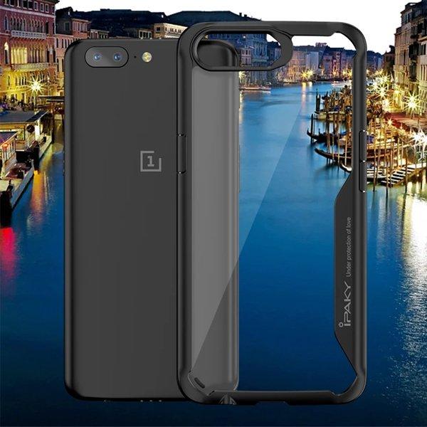 ipaky OnePlus 5 কালো শকপ্রুফ কেস