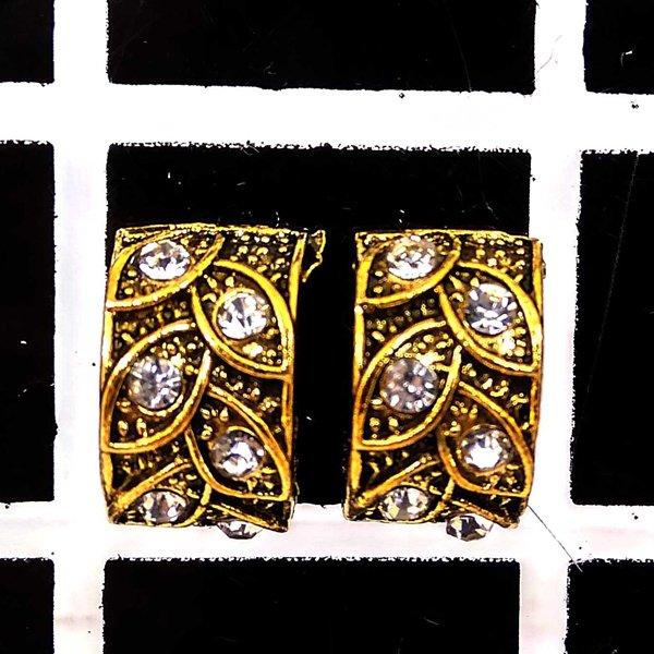 প্রাচীন পাতা ডিজাইনের স্টোন সেটিং আকর্ষনীয় টিনি টবস