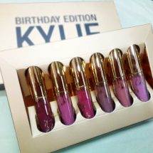 Kylie ম্যাটে লিপস্টিক জন্মদিন এডিশন