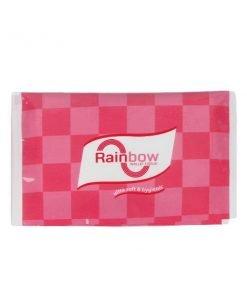 Rainbow গোলাপী নরম ওয়ালেট টিস্যু