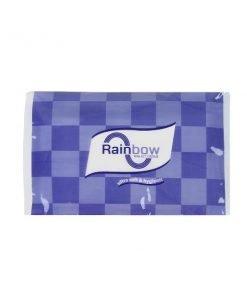 Rainbow বেগুনী নরম ওয়ালেট টিস্যু (১০ প্যাকেট)
