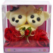 Just For You লাল টেডি বিয়ার গোলাপ ফুল Valentines Day Gifts For Him & Her