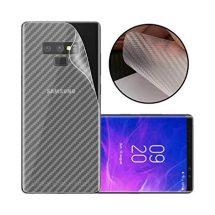 Samsung Note 9 3D ক্লিয়ার কার্বন ফাইবার ব্যাক সাইড প্রটেকটর স্টিকার