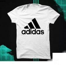 ছেলেদের Adidas ডিজাইন গোল গলা হাফ হাতা টি-শার্ট
