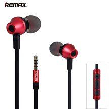 কালো-লাল ডিজাইন অরজিনাল Remax RM 610D Stereo Music In Ear ইয়ারফোন