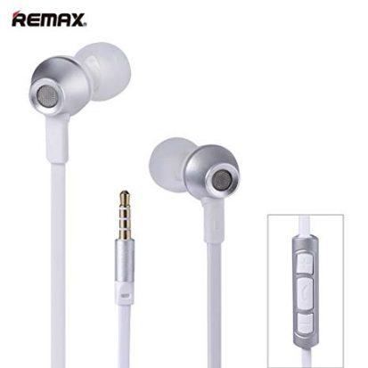 সাদা-সিলভার কালার অরজিনাল Remax RM 610D Stereo ইয়ারফোন