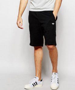 ছেলেদের কালো Adidas ডিজাইন এক্সপোর্ট কোয়ালিটি শর্টস