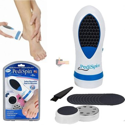 Pedi Spin Gently রিমুভস Calluses ড্রাই স্কিন Electric রিমুভার Pedicure Calluses Dry Dead Skin For Foot Care ট্যুল Massager বিউটি Equipment